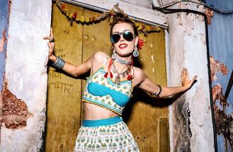 Hair, Makeup, Styling and Art Direction - Hazel Joanna Photographer - Sidhant Shorey Model - Eva