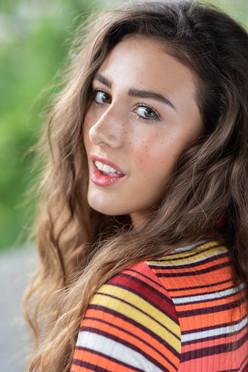 Makeup - Hazel Joanna Hair - Hayley Evans Photograher - Mary Sullivan