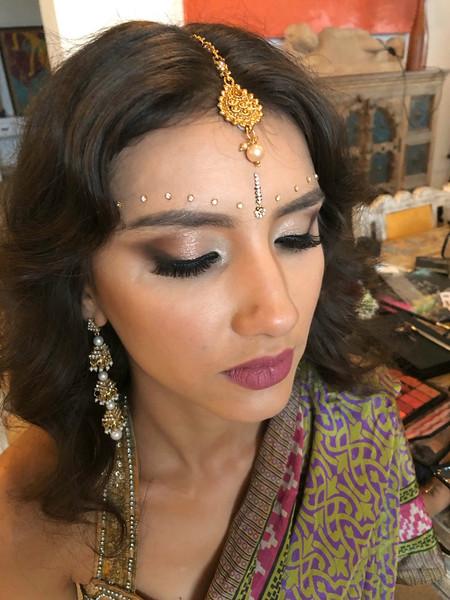 Maya bridal hair and makeup