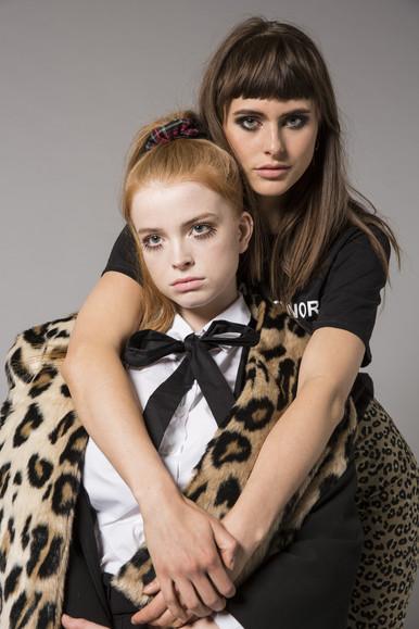 Hair & Makeup - Hazel Joanna Stylisyt - Anaelle Claudet Photographer - Chiara Ceci Models  - Lola and Shakti