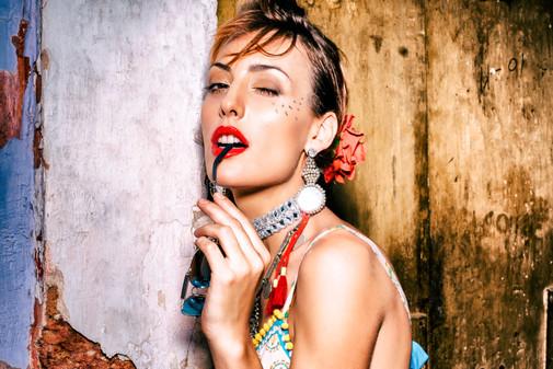 Hair, Makeup and Styling - Hazel Joanna Photographer - Siddhant Shorey Model - Eva