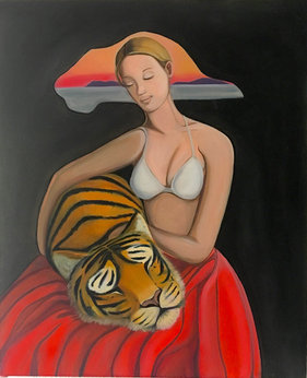 Crouching Woman, Sleeping Tiger