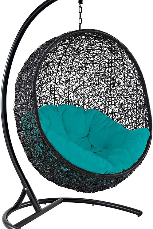 Cabo Outdoor Swing- Turquoise