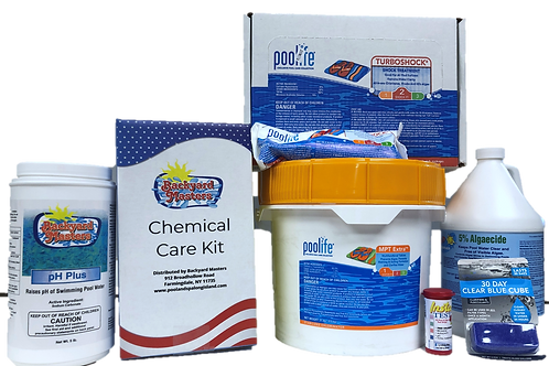 Backyard Masters Chemical Care Kit