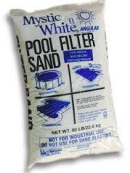Mystic White Filter Sand 50lbs