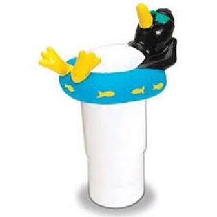 Floating Adjustable Penguin Chlorine Dispenser