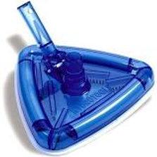 Hydrotools Deluxe Weighted Transparent Triangular Vacuum Head
