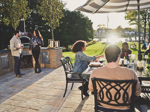 BYM Outdoor Design with Nicolock Pavers
