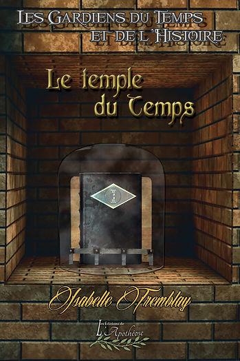 Couverture du roman Le temple du Temps