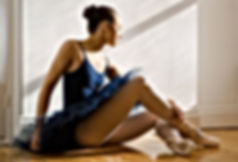 Sitting Ballerina