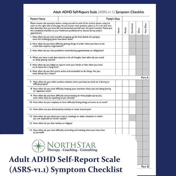 Adult ADHD Self-Report Scale (ASRS-v1.1)