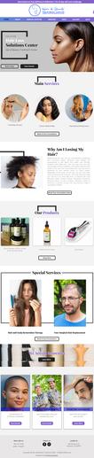 Wix Website Trichology
