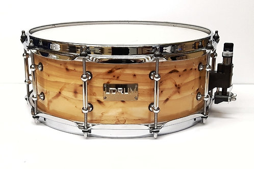 """14"""" x 5.5"""" Steam Bent Pecan Snare (used)"""