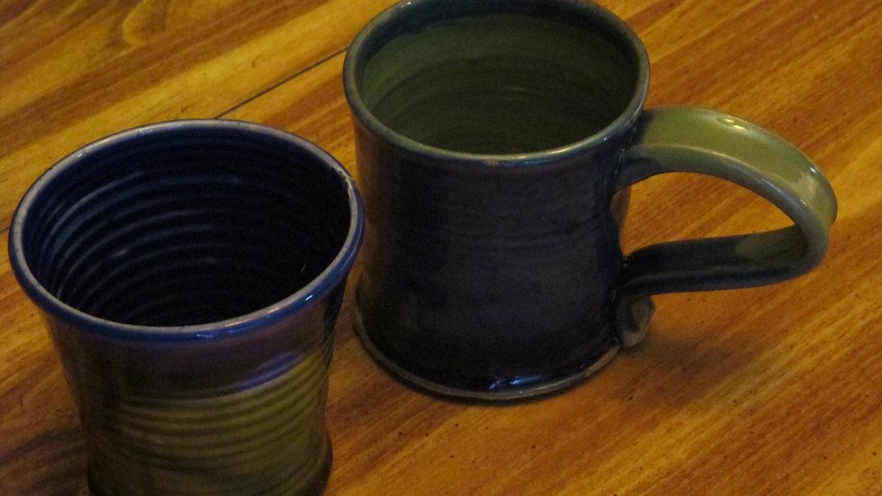 Hot Beverage Mug & Cold Tumbler Set