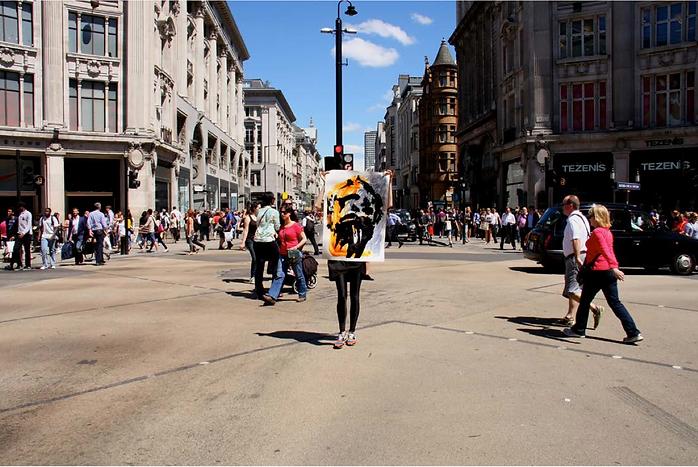 London Faces street art project by Ewa Budka photo Agata Madurowicz