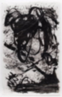The Skin I have been living in, Budkalito e/a print, japanese paper, 31in x 49in by Ewa Budka