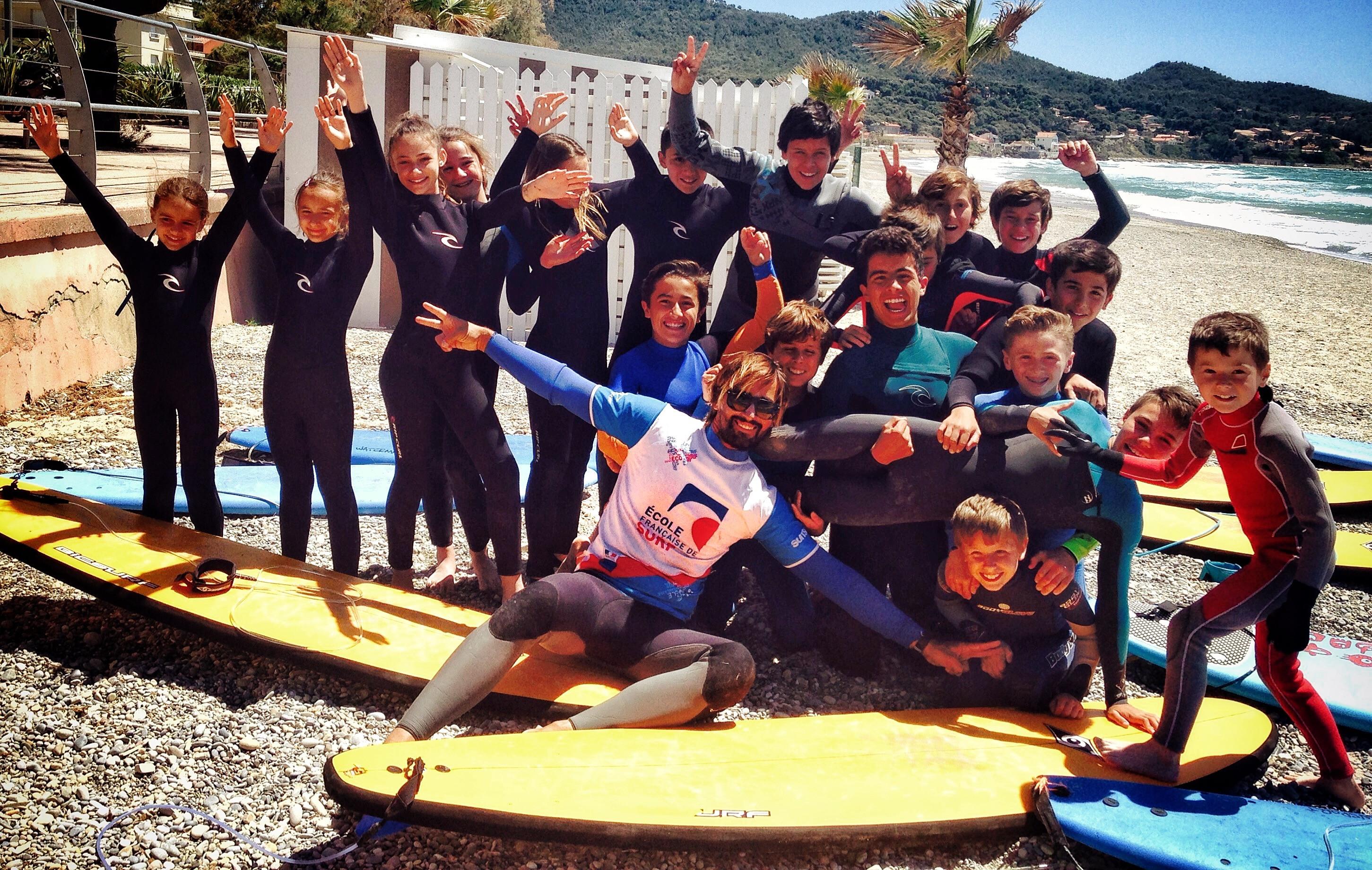 Cours collectif de surf