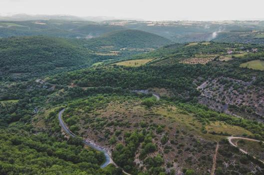 Vue des vallées