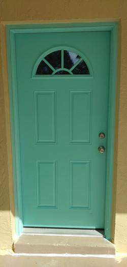 Aquarius Front Door