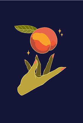 Just Peachy Print