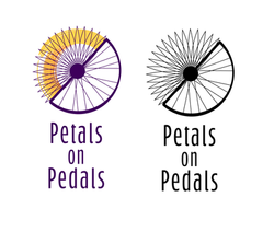 Petals on Pedals Logo