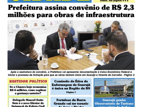 PREFEITURA ASSINA CONVÊNIOS DE 2,3 MILHÕES PARA OBRAS E INFRAESTRUTURA