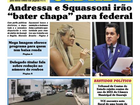 """VEREADORA ANDRESSA SALLES E DEPUTADO MARCELO SQUASSONI VÃO """"BATER CHAPA"""" PARA FEDERAL"""