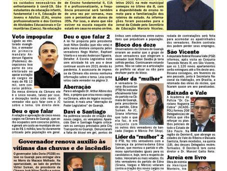 BASTIDOR POLÍTICO - GUARUJÁ, SANTOS E REGIÃO