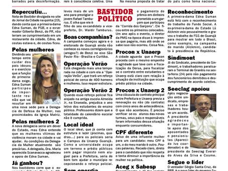 BASTIDOR POLÍTICO LITORAL
