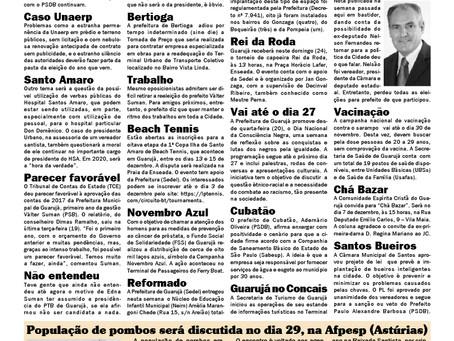 BASTIDOR POLÍTICO - JORNAL DA CIDADE LITORAL