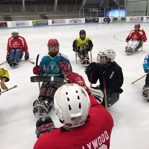 Ice time had by all as kids from Kazakhstan visit Barre
