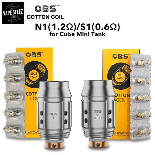 OBS Cube Mini Replacement Coil 5pcs