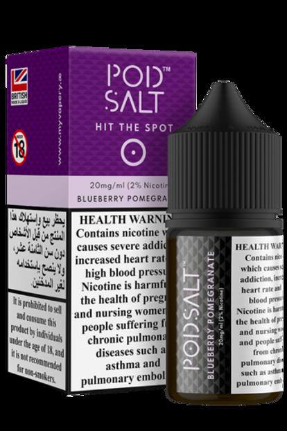 Pod Salt-Blueberry Pomegranate 30mil