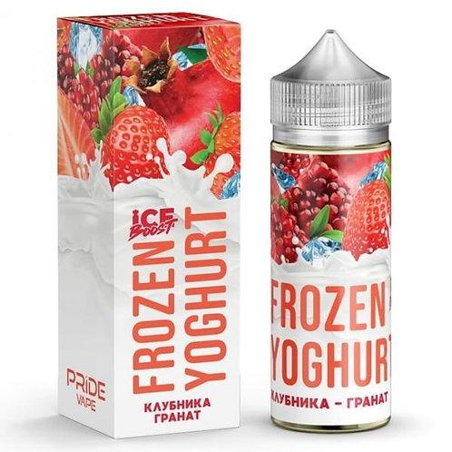 Frozen Yoghurt Ice Boost-Strawberry Garnet 120mil