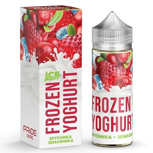 Frozen Yoghurt Ice Boost-Lingonberry Strawberry 120mil
