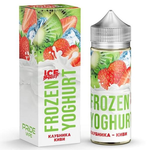 Frozen Yoghurt Ice Boost-Strawberry Kiwi 120mil