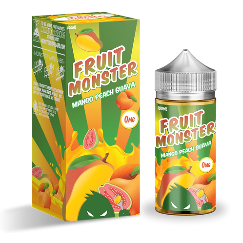 Fruit Monster-Mango Peach Guava 100mil