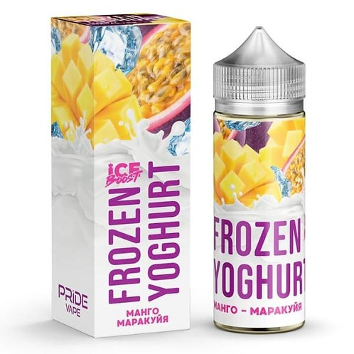 Frozen Yoghurt Ice Boost-Mango Passion Fruit 120mil