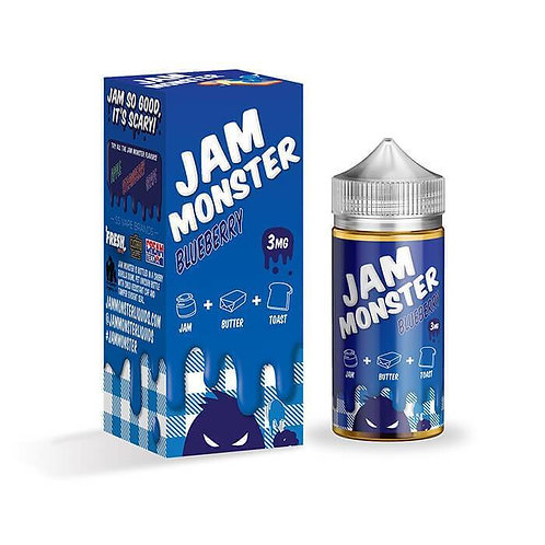 Jam Monster-Blueberry 100mil
