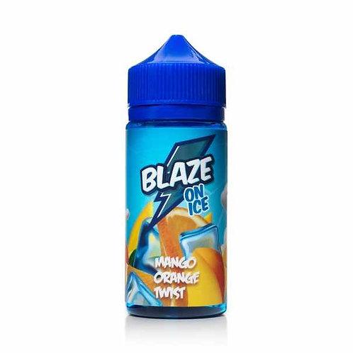 BLAZE ON ICE-Mango Orange Twist 100mil