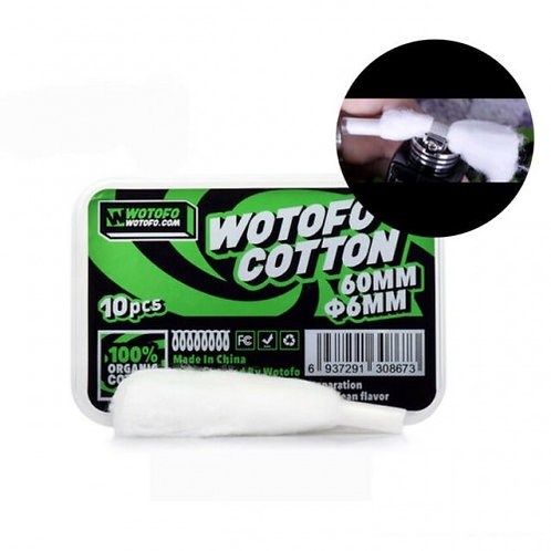 WOTOFO Xfiber Cotton for Profile 10PCS