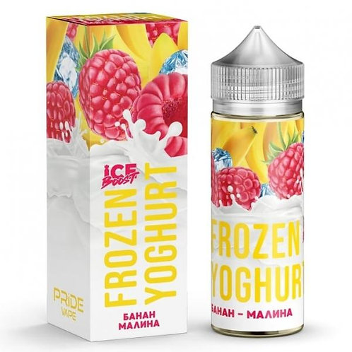 Frozen Yoghurt Ice Boost-Banana Raspberry 120mil