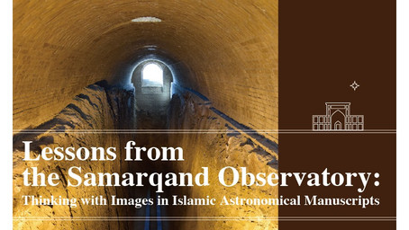 May 20: Scott Trigg - Lessons from the Samarqand Observatory