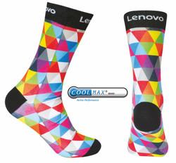 KS15 Coolmax Crew printed socks (6)