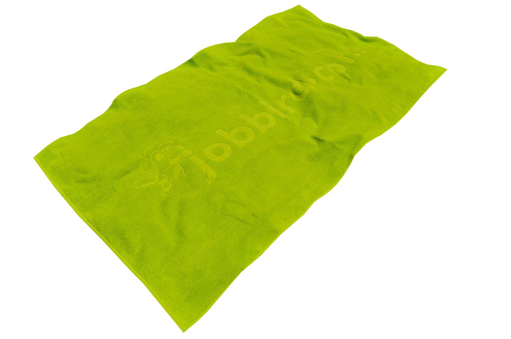 Relief woven towel
