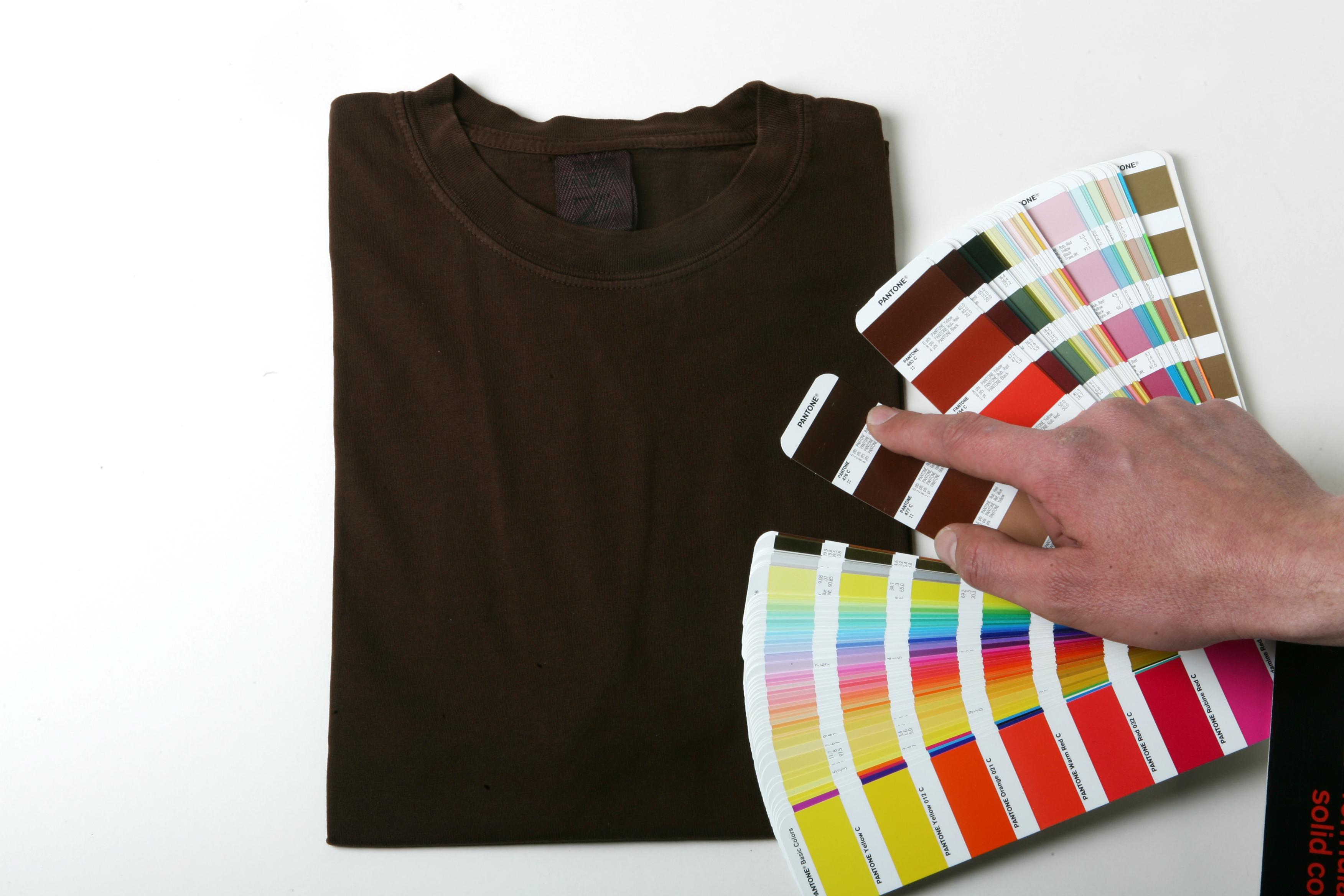 Pantone dyed T-Shirts