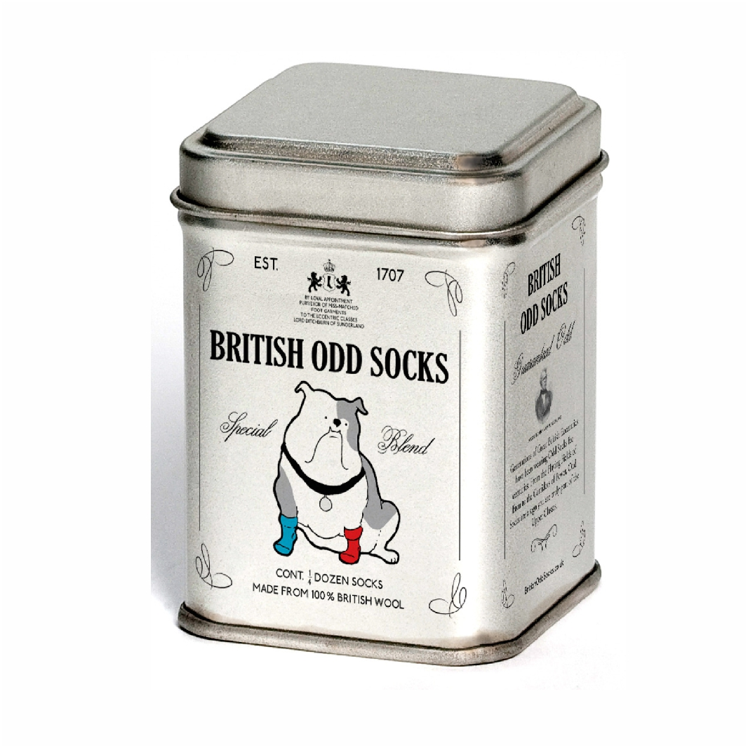 Socks in tins (4)