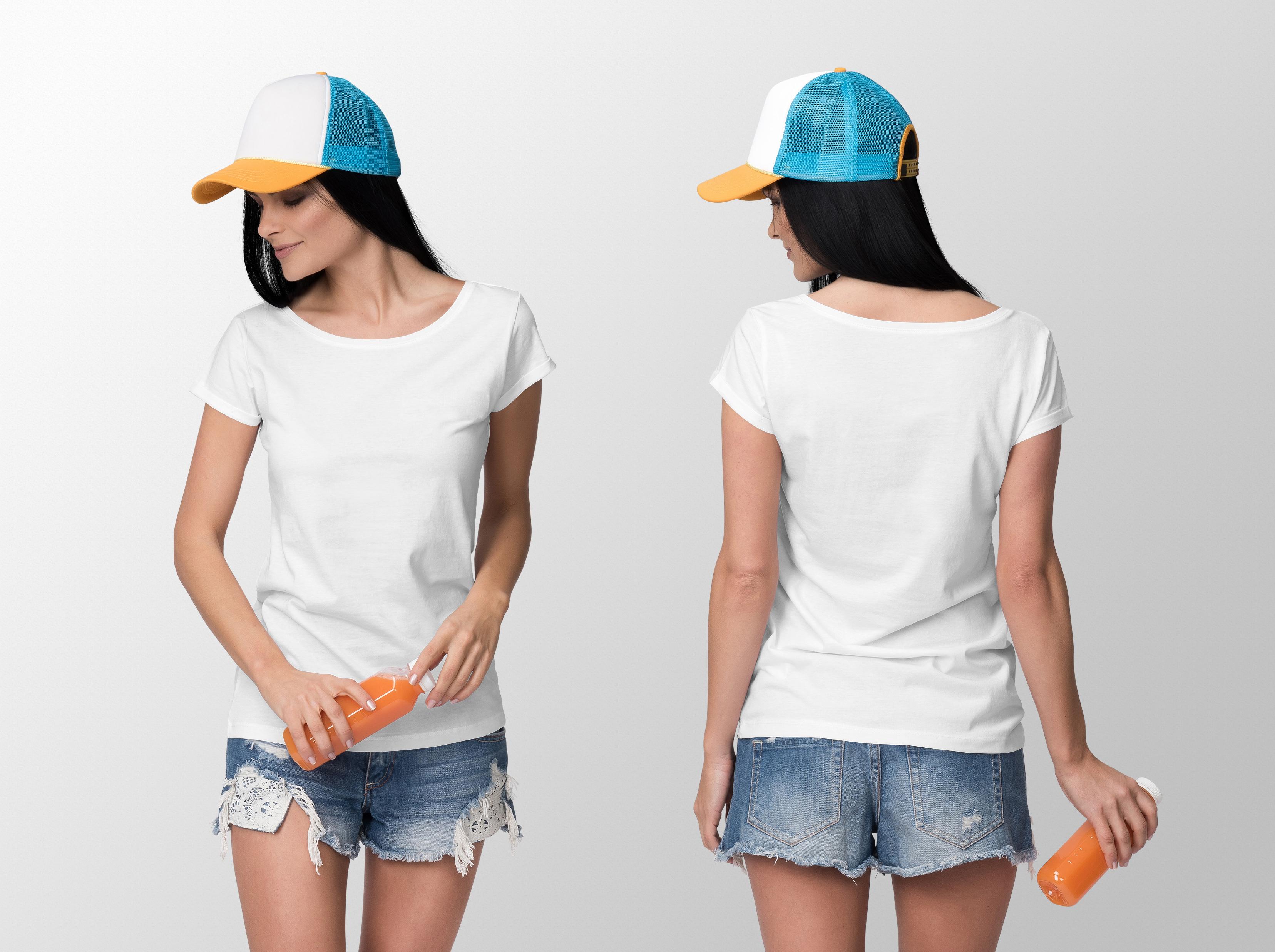 Custom made ladies T-Shirts (6)