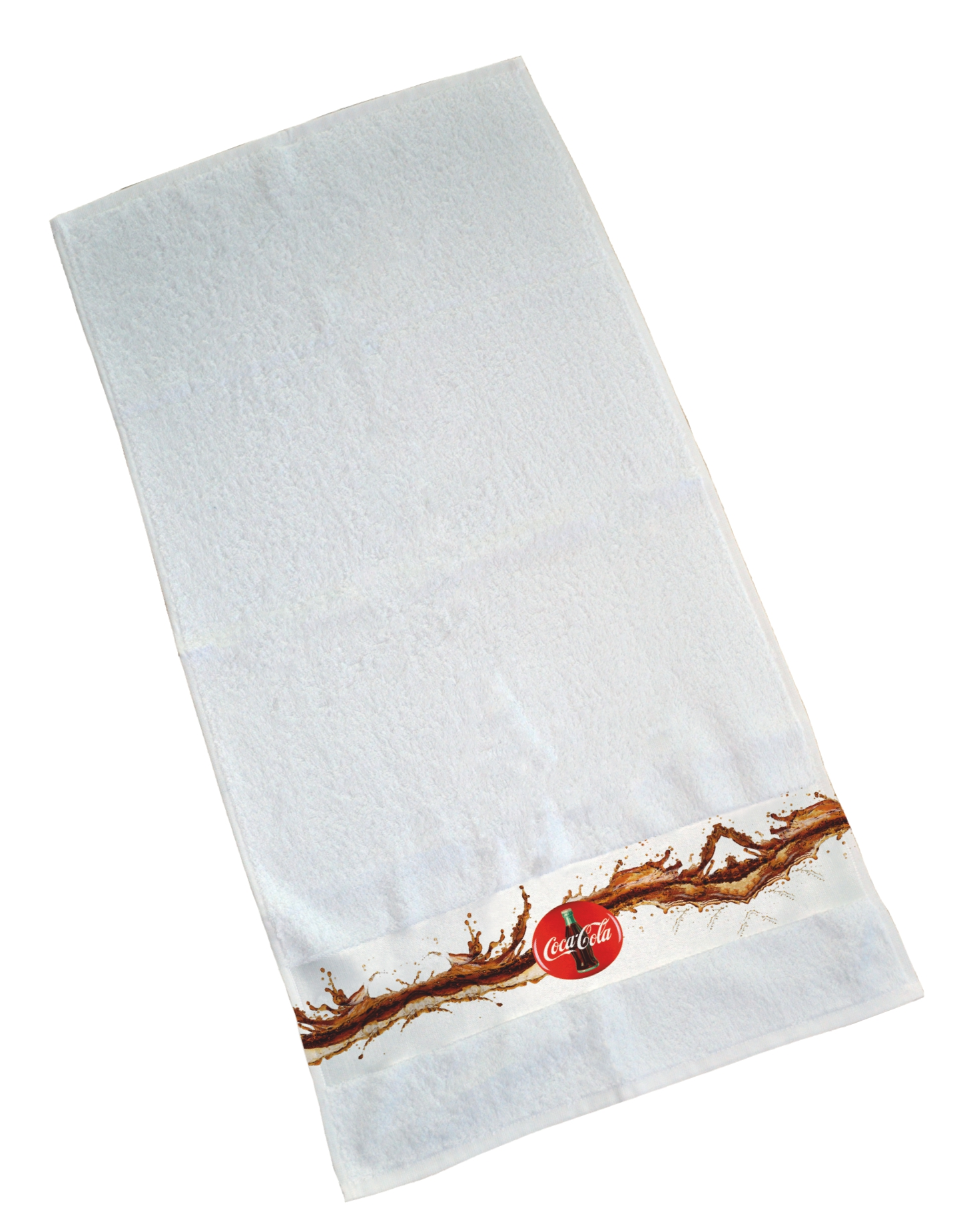 Printed border towel