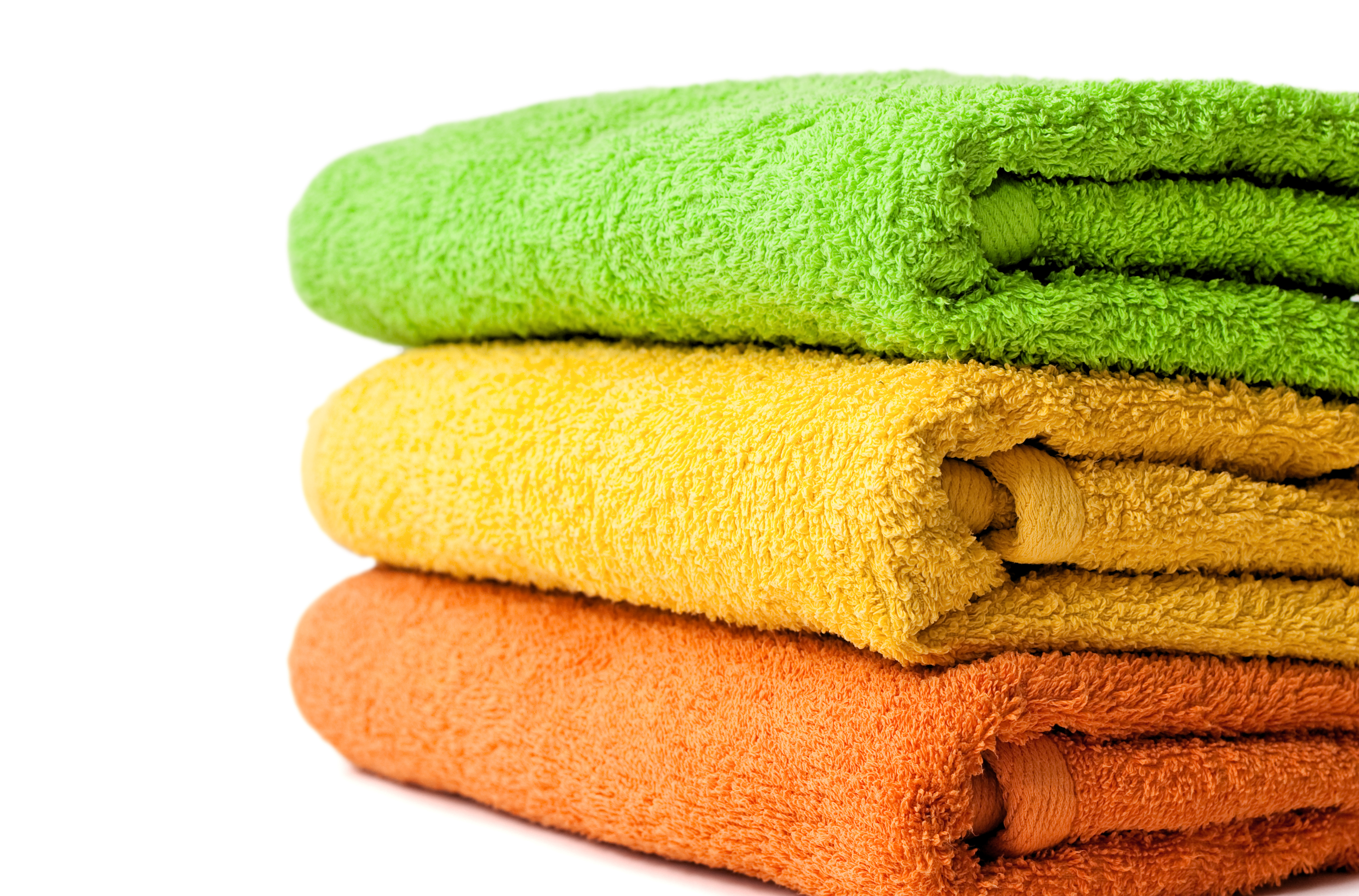 Bath towels dyed in any colour.